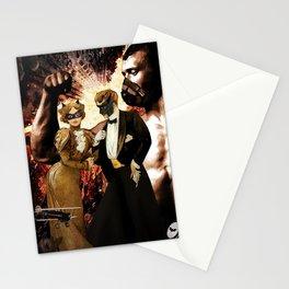 The Dark Knight Nouveau  Stationery Cards