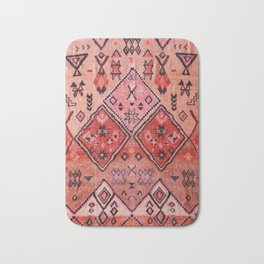 Epic Rustic & Farmhouse Style Original Moroccan Artwork  Bath Mat
