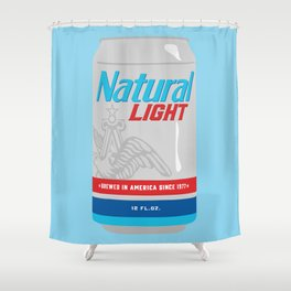Natty Light Shower Curtain