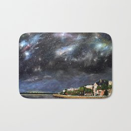 The Wide Night Sky- Charleston Battery Cosmos Bath Mat
