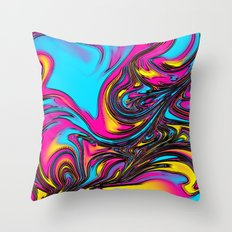 Life is Abstract Throw Pillow