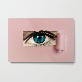 The Eye of the Beholder Metal Print