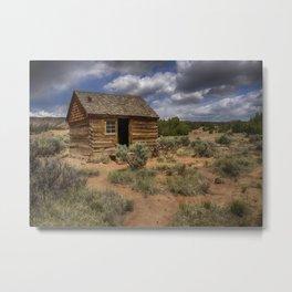 Morrell Line Cabin- Capitol Reef National Park, Utah Metal Print