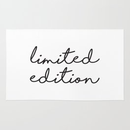 Apartment Prints, Limited Edition, Words Art, Print 16 x 20, Apartment Poster, Wall Hanging Rug
