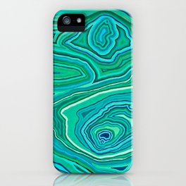 After Malachite iPhone Case