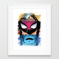 comic Framed Art Prints featuring Comic by Molnár Roland