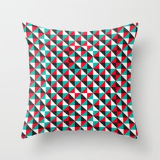 Typoptical Illusion A no.4 Throw Pillow