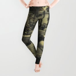Sorrento street postcard Leggings
