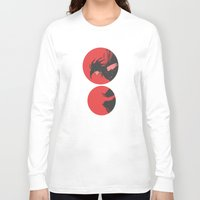 nightmare Long Sleeve T-shirts featuring Nightmare by Pulvis