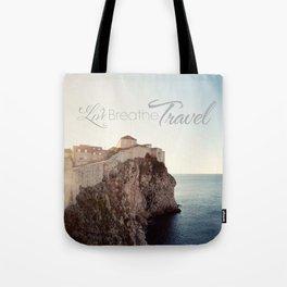 Live Breathe Travel - Dubrovnik, Croatia Tote Bag