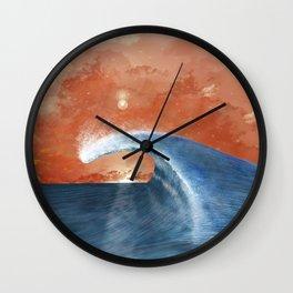 Wave&Sky Wall Clock