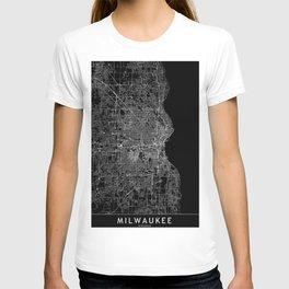 Milwaukee Black Map T-shirt