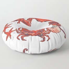 mer party Floor Pillow
