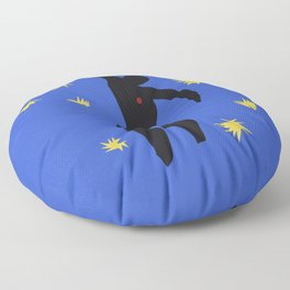 Icarus In the syle of Matisse Floor Pillow