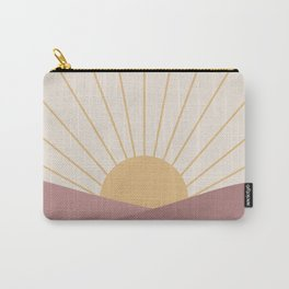 Morning Light - Pink Carry-All Pouch