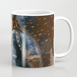 Beauty and the Beast Digital Painting Coffee Mug