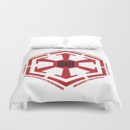 The Code of the Sith Duvet Cover