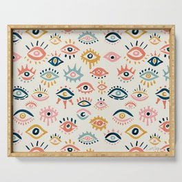 Mystic Eyes – Primary Palette Serving Tray