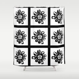 The night they summoned the demon R.H.L. Shower Curtain
