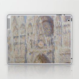 "Claude Monet ""Rouen Cathedral The Portal (Sunlight)"" Laptop & iPad Skin"