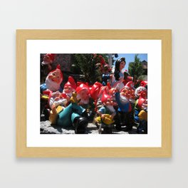 ALL DRESSED UP AND NOME WHERE TO GO Framed Art Print