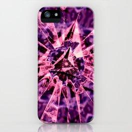 Pink Crack iPhone Case