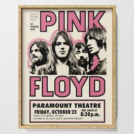 PinkFloyd Meddle Concert Tour 1971 (digitalized) Serving Tray