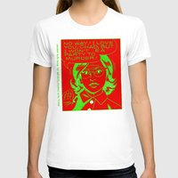 chad wys T-shirts featuring chad for murder by Chad M. White