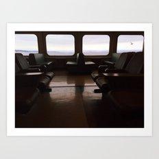 Ferry  Art Print