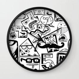Little Musket Monsters Wall Clock