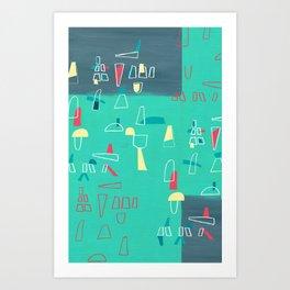 structures 2 Art Print
