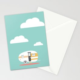 Lets See Really Cool Stuff Together Airstream Art  Stationery Cards