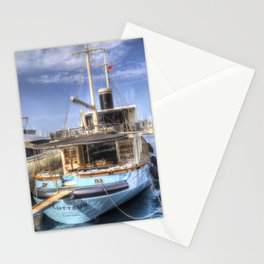 Lutteur Motor Yacht Stationery Cards
