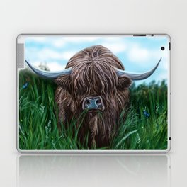 Scottish Highland Cow Laptop & iPad Skin