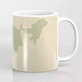 Coriander Blue Spice Moods India Coffee Mug