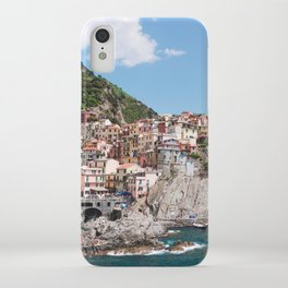 Cinque Terre | Italy City Travel Landscape Coastal Photography iPhone Case