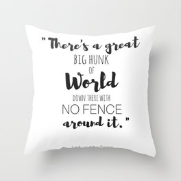 Lady and the Tramp Quote Throw Pillow