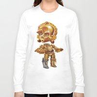 c3po Long Sleeve T-shirts featuring C3PO by oRen