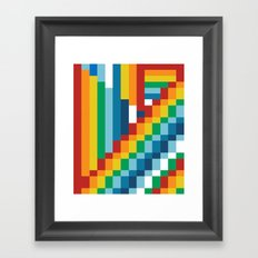 Fuzzline #5 Framed Art Print