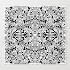 hand drawn pattern Canvas Print