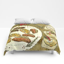 Holiday Hors D'oeuvre Comforters