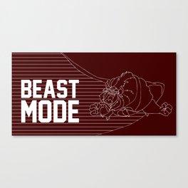 Beast Mode Canvas Print
