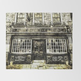 Prospect of  Whitby Pub London 1520 Vintage Throw Blanket