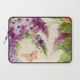 Butterfly Bush floral Laptop Sleeve