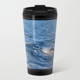 Dolphin Wow Travel Mug