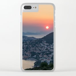 DUBROVNIK 10 Clear iPhone Case