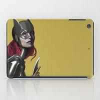 batgirl iPad Cases featuring BATGIRL by corverez