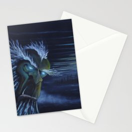 Snow Yeti Stationery Cards