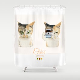 Cameracat Shower Curtain