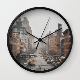 Streets of New York vol. 02 Wall Clock